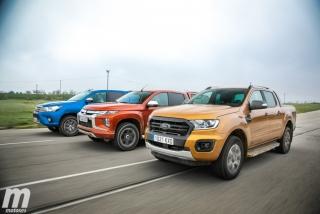 Fotos Toyota Hilux vs Ford Ranger vs Mitsubishi L200 Foto 4
