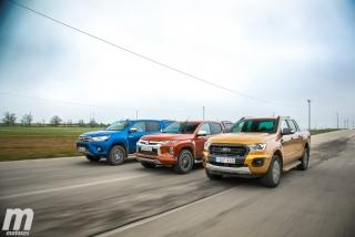 Fotos Toyota Hilux vs Ford Ranger vs Mitsubishi L200 Foto 5