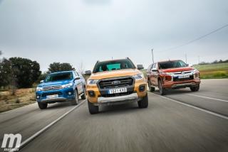 Fotos Toyota Hilux vs Ford Ranger vs Mitsubishi L200 Foto 6