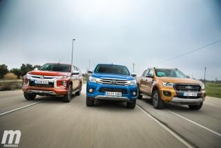 Fotos Toyota Hilux vs Ford Ranger vs Mitsubishi L200 Foto 7