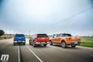Fotos Toyota Hilux vs Ford Ranger vs Mitsubishi L200 Foto 8