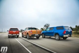 Fotos Toyota Hilux vs Ford Ranger vs Mitsubishi L200 Foto 9