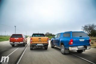 Fotos Toyota Hilux vs Ford Ranger vs Mitsubishi L200 Foto 10