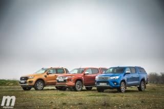 Fotos Toyota Hilux vs Ford Ranger vs Mitsubishi L200 Foto 11