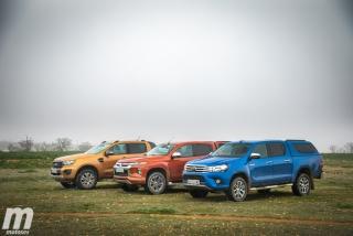 Fotos Toyota Hilux vs Ford Ranger vs Mitsubishi L200 Foto 12
