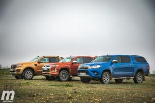 Fotos Toyota Hilux vs Ford Ranger vs Mitsubishi L200 Foto 13