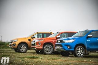 Fotos Toyota Hilux vs Ford Ranger vs Mitsubishi L200 Foto 14