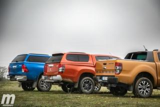 Fotos Toyota Hilux vs Ford Ranger vs Mitsubishi L200 Foto 16