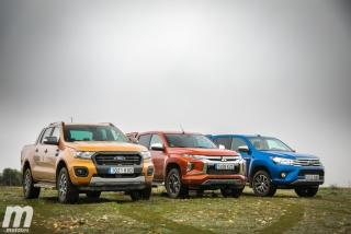 Fotos Toyota Hilux vs Ford Ranger vs Mitsubishi L200 Foto 17