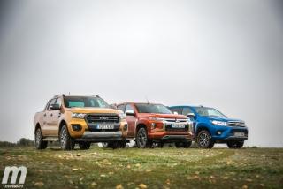 Fotos Toyota Hilux vs Ford Ranger vs Mitsubishi L200 Foto 18