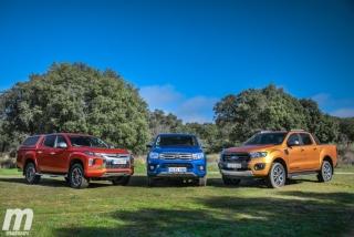 Fotos Toyota Hilux vs Ford Ranger vs Mitsubishi L200 Foto 19
