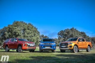 Fotos Toyota Hilux vs Ford Ranger vs Mitsubishi L200 Foto 20