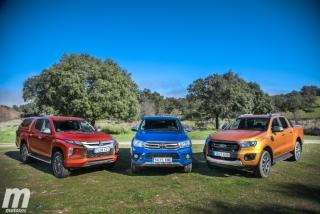 Fotos Toyota Hilux vs Ford Ranger vs Mitsubishi L200 Foto 21