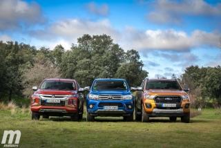 Fotos Toyota Hilux vs Ford Ranger vs Mitsubishi L200 Foto 22