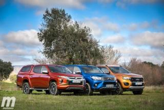 Fotos Toyota Hilux vs Ford Ranger vs Mitsubishi L200 Foto 23