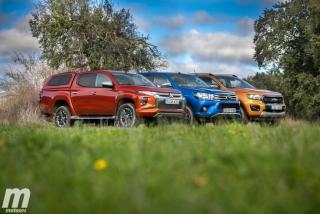 Fotos Toyota Hilux vs Ford Ranger vs Mitsubishi L200 Foto 24