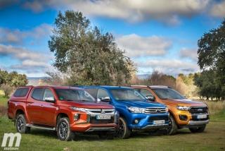 Fotos Toyota Hilux vs Ford Ranger vs Mitsubishi L200 Foto 25