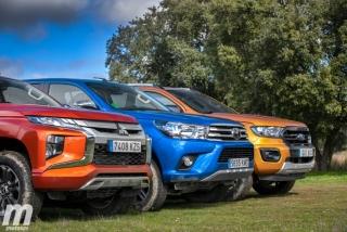 Fotos Toyota Hilux vs Ford Ranger vs Mitsubishi L200 Foto 26
