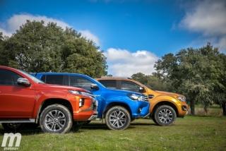 Fotos Toyota Hilux vs Ford Ranger vs Mitsubishi L200 Foto 27
