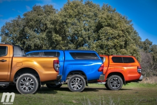 Fotos Toyota Hilux vs Ford Ranger vs Mitsubishi L200 Foto 29