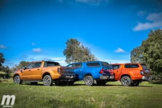 Fotos Toyota Hilux vs Ford Ranger vs Mitsubishi L200 Foto 30