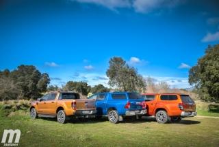 Fotos Toyota Hilux vs Ford Ranger vs Mitsubishi L200 Foto 31