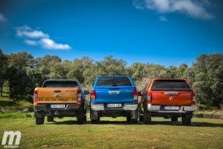 Fotos Toyota Hilux vs Ford Ranger vs Mitsubishi L200 Foto 32