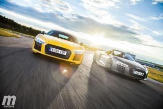 Foto 1 - Galería Audi R8 Coupé vs R8 Spyder