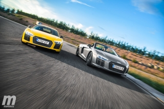 Foto 2 - Galería Audi R8 Coupé vs R8 Spyder