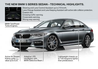 Galería BMW Serie 5 2017 Foto 132