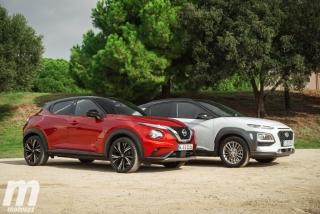 Galería comparativa Nissan Juke vs Hyundai KONA Foto 1