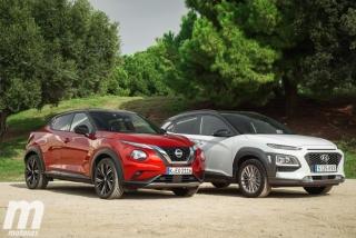 Galería comparativa Nissan Juke vs Hyundai KONA Foto 2