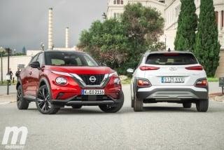 Galería comparativa Nissan Juke vs Hyundai KONA Foto 3