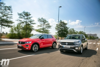 Galería comparativa VW T-Cross vs VW T-ROC Foto 1