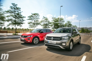 Galería comparativa VW T-Cross vs VW T-ROC Foto 2