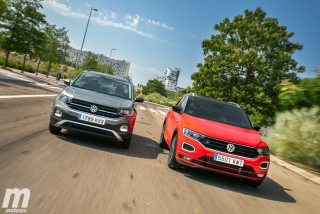 Galería comparativa VW T-Cross vs VW T-ROC Foto 3