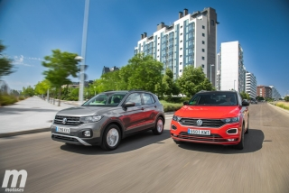 Galería comparativa VW T-Cross vs VW T-ROC Foto 4