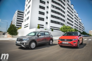Galería comparativa VW T-Cross vs VW T-ROC Foto 5