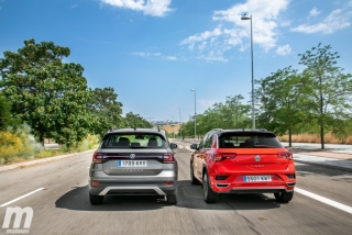 Galería comparativa VW T-Cross vs VW T-ROC Foto 6