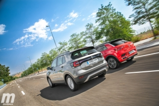 Galería comparativa VW T-Cross vs VW T-ROC Foto 7