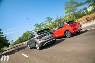 Galería comparativa VW T-Cross vs VW T-ROC Foto 8