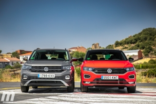 Galería comparativa VW T-Cross vs VW T-ROC Foto 29