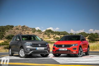 Galería comparativa VW T-Cross vs VW T-ROC Foto 30