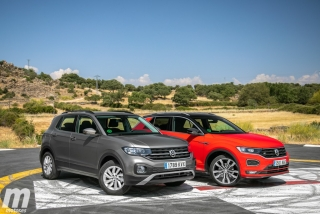 Galería comparativa VW T-Cross vs VW T-ROC Foto 31