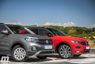 Galería comparativa VW T-Cross vs VW T-ROC Foto 32