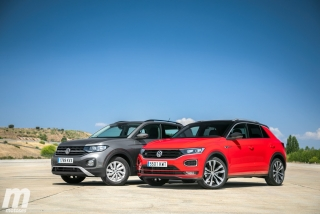 Galería comparativa VW T-Cross vs VW T-ROC Foto 34
