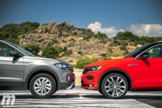 Galería comparativa VW T-Cross vs VW T-ROC Foto 35