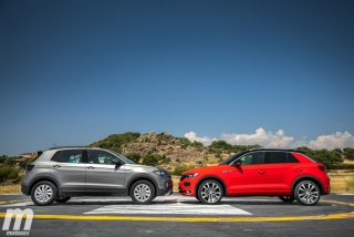 Galería comparativa VW T-Cross vs VW T-ROC Foto 36