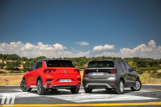 Galería comparativa VW T-Cross vs VW T-ROC Foto 38