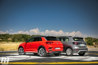 Galería comparativa VW T-Cross vs VW T-ROC Foto 39